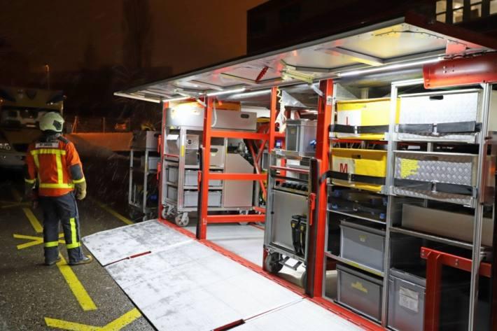 In St. Gallen kam es gestern in einem Betrieb zu einem Chemieunfall.