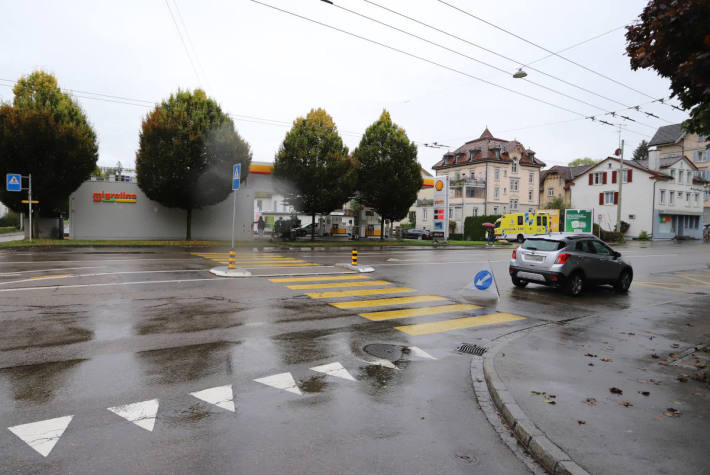 Fussgängerin bei Verkehrsunfall verletzt