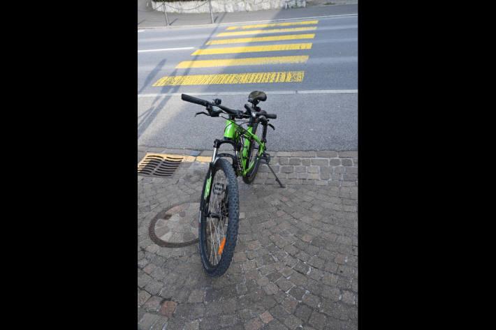 Fahrrad des Kindes aus Schaan
