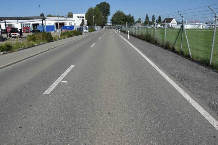 Unfall zwischen Auto und Velo in Altenrhein