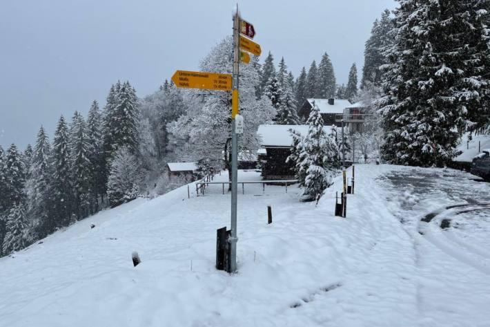 Am Mittwoch wird es erneut Schnee bis in mittlere und tieferen lagen geben. (Symbolbild)