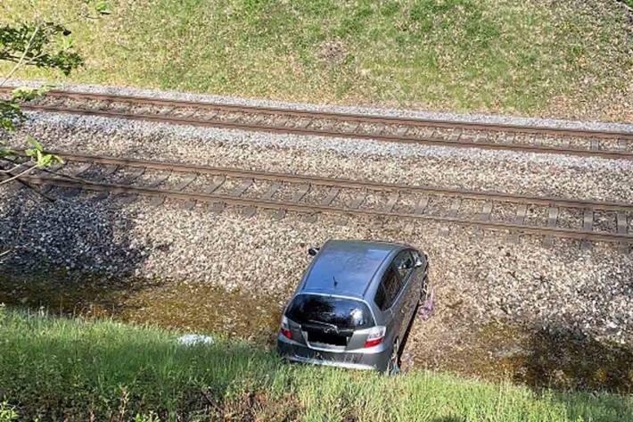 Die betroffene Bahnlinie musste in Schaffhausen für mehrere Stunden gesperrt werden