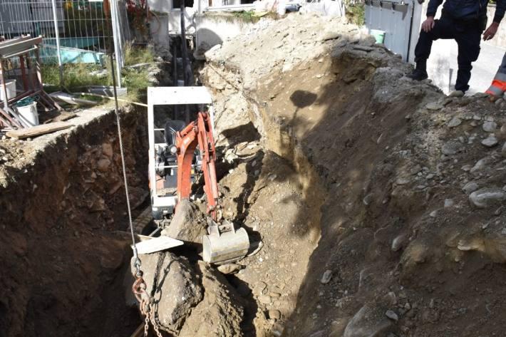 Schwerer Arbeitsunfall in Poschiavo GR.