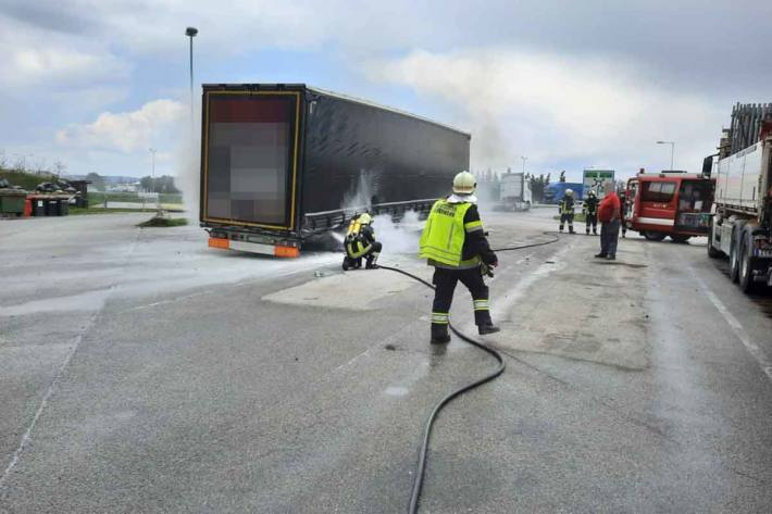 Die Explosion war folgenschwer für den LKW-Lenker