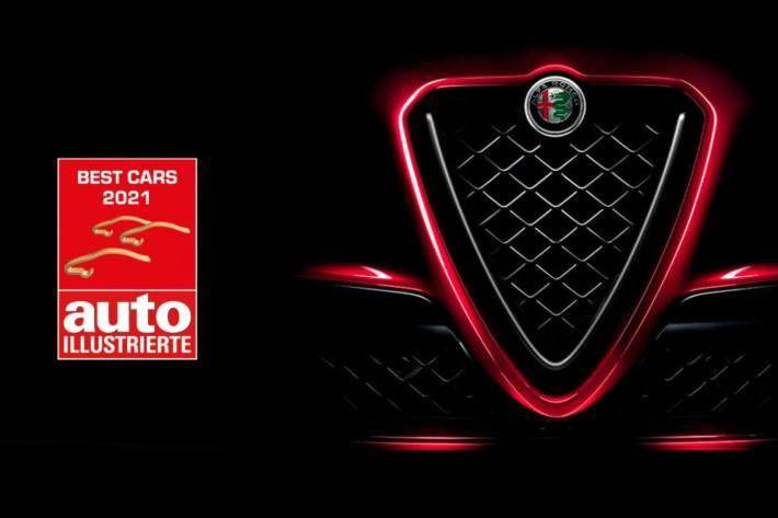 Alfa Romeo ist in der Schweiz die beliebteste Automarke