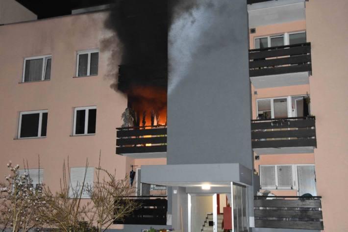 In Wil SG brannte es in einer Wohnungsküche gestern.