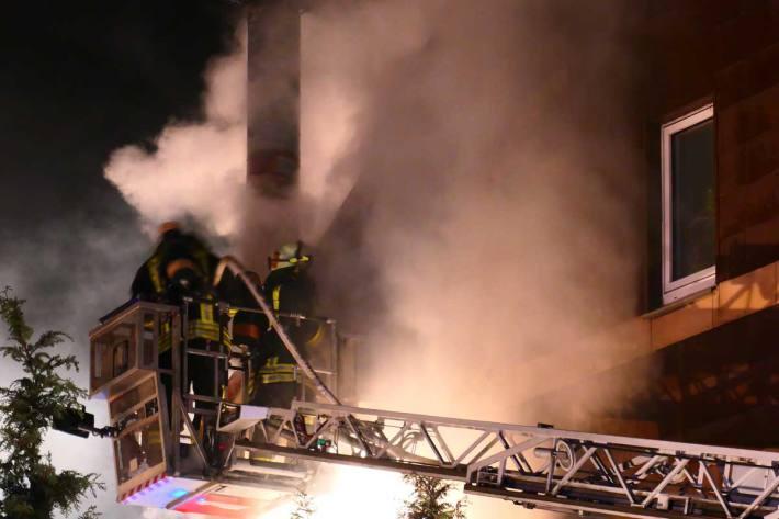 Feuer im Restaurant in Dortmund
