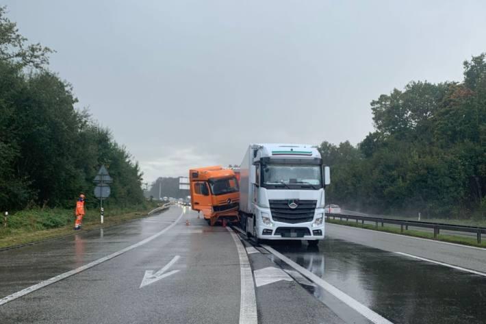 Gestern ereignete sich in Deitingen SO eine Auffahrkollision.