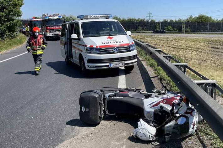 Verkehrsunfall mit tödlichem Ausgang in Wiener Neudorf