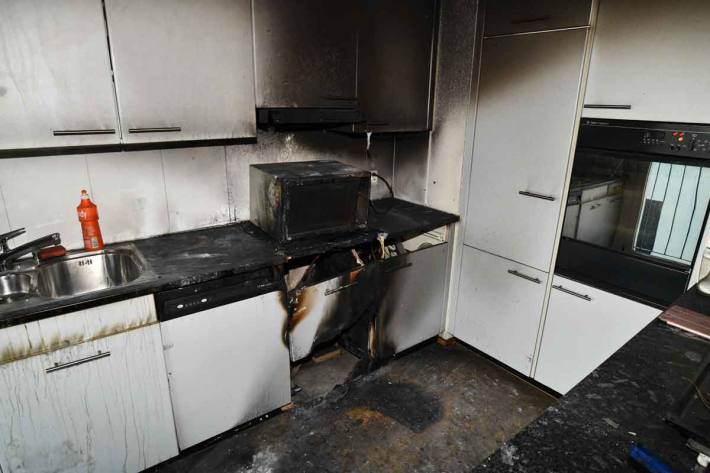 Wohnungsbrand in St.Gallen