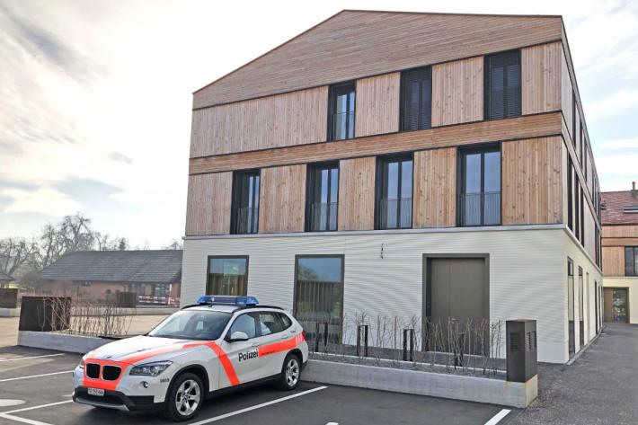 Der neue Standort des Polizeipostens Altnau an der Bahnhofstrasse 12b.
