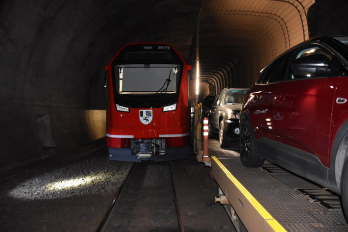 Bahnunfall im Vereinatunnel bei Klosters