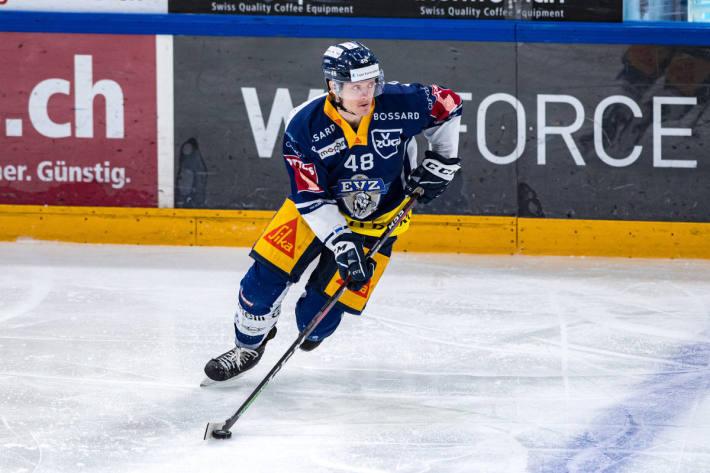 Carl Klingberg vom EVZ