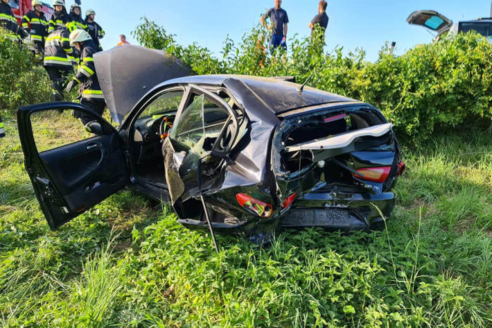 Verkehrsunfall auf der A2 Südautobahn