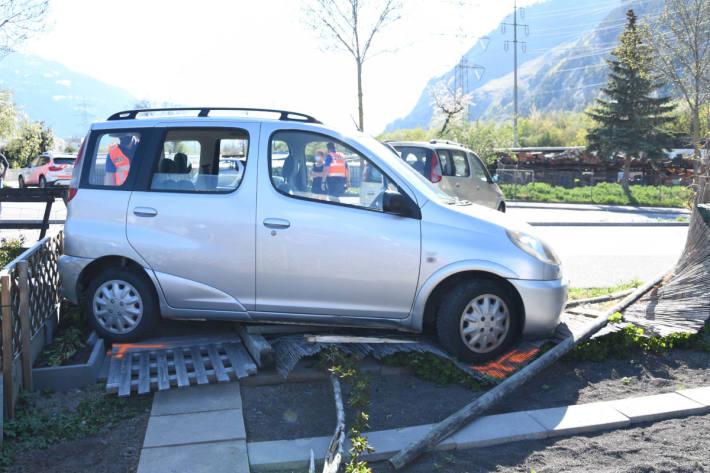 Eine verletzte Person bei zwei Verkehrsunfällen in Chur