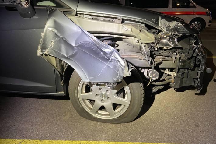 In Zofingen AG kam es gestern zu einem Unfall.