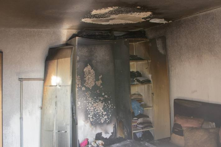 In Chur GR brannte es gestern in einer Wohnung.