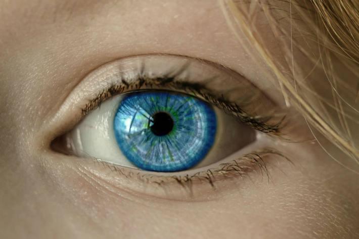 Die Gesundheit der Augen ist wichtig.