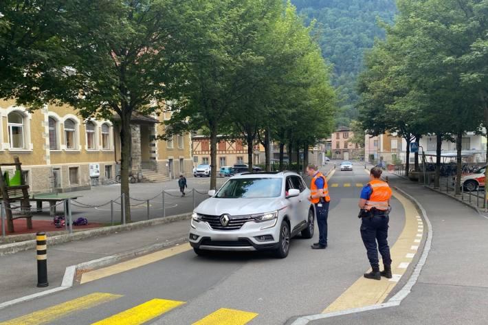 Im Kanton Uri fanden Schulwegkontrollen statt.
