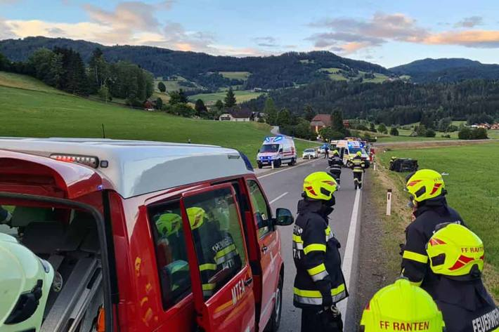 Schwerer Unfall in Ranten