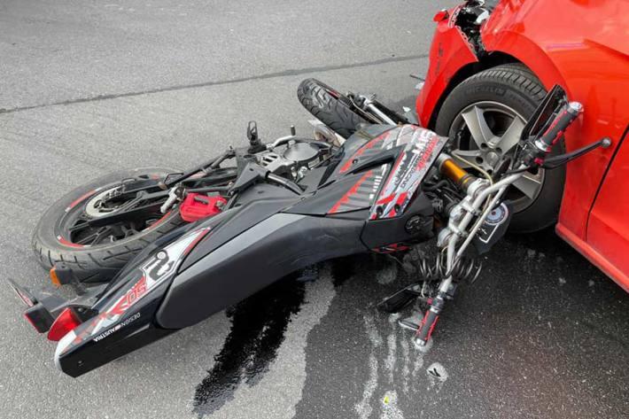 Verkehrsunfall in Ennsdorf