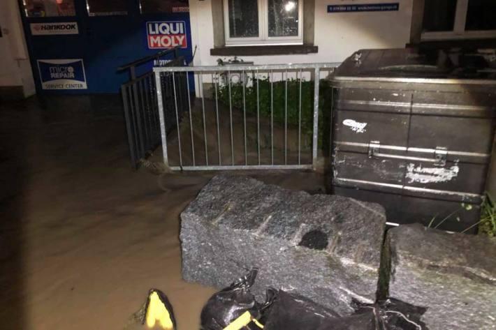 Hochwassersituation bleibt in Schübelbach angespannt