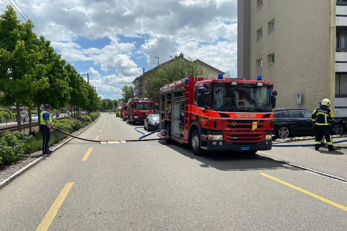 Löschfahrzeuge in Buchs AG