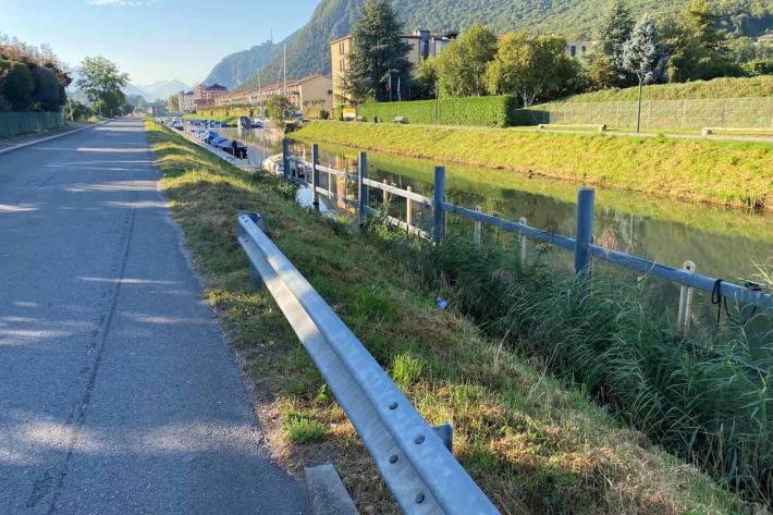 Radfahrer bei Sturz in Bouveret schwer verletzt