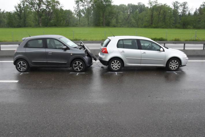 Zwei Unfälle auf der Autobahn A1 bei St. Margrethen