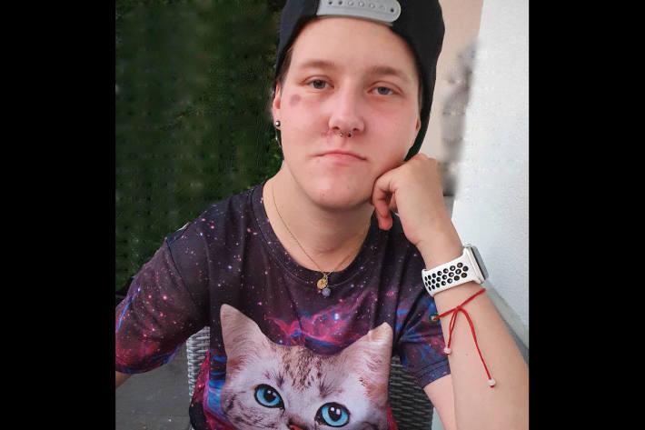 Bild der vermissten 21-Jährigen aus Adligenswil