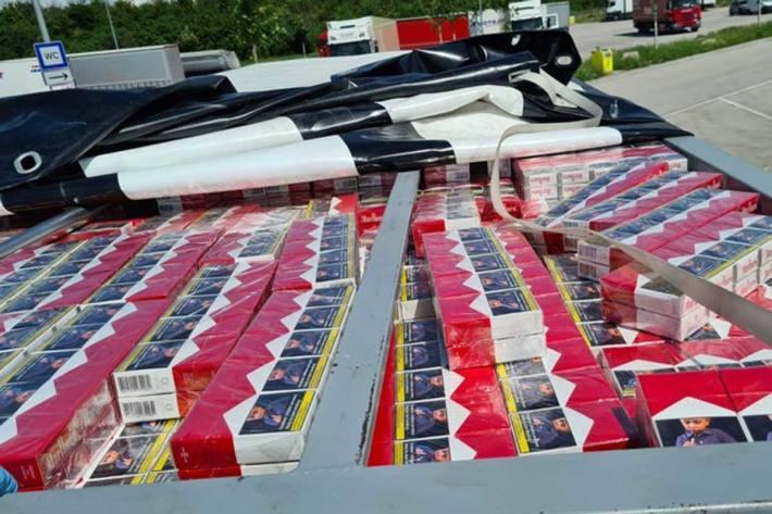 Schmuggelzigaretten in Karlsruhe sichergestellt