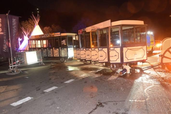 In Vaduz FL ist es letzte nacht zu einem schweren Unfall gekommen.