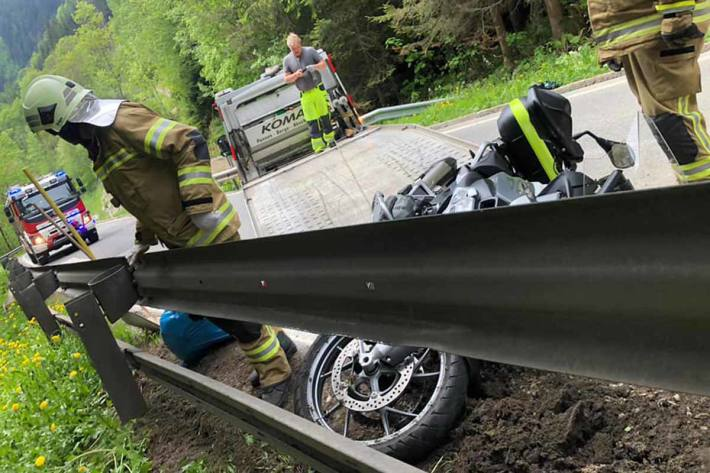Unfall in Pogusch