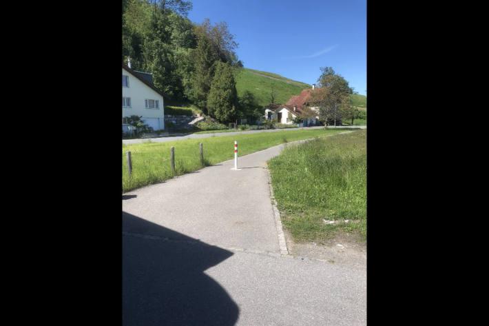 Selbstunfall mit E-Bike in Oberriet