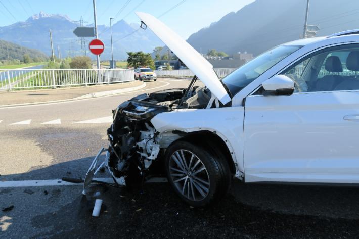 Beim Unfall in Bilten GL wurde niemand verletzt.