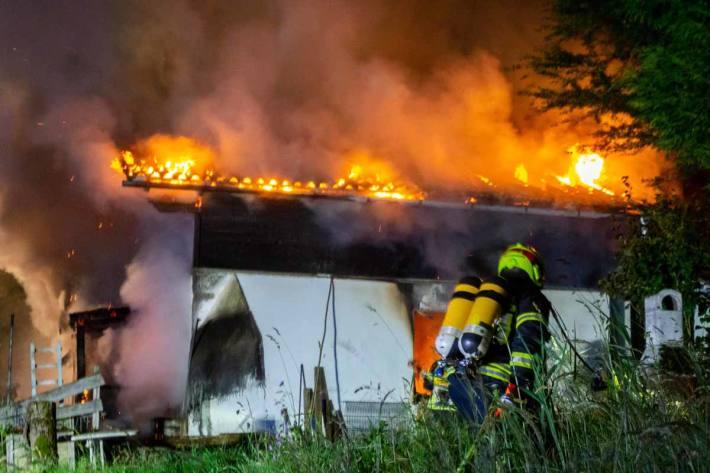 Wohnhausbrand in Spital am Pyhrn