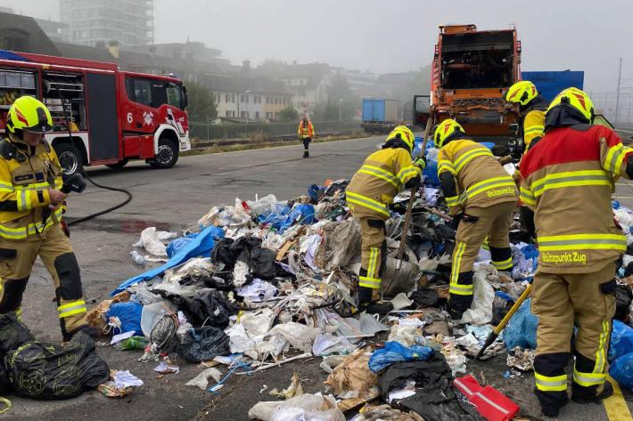 Akku-Batterien sorgen für Feuerwehreinsatz