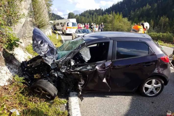 Schwerer Unfall in Heiterwang