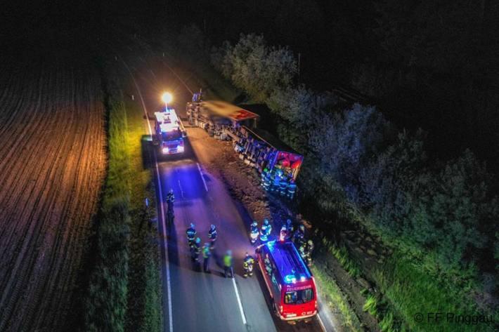 Verkehrsunfall mit Wild in Pinggau