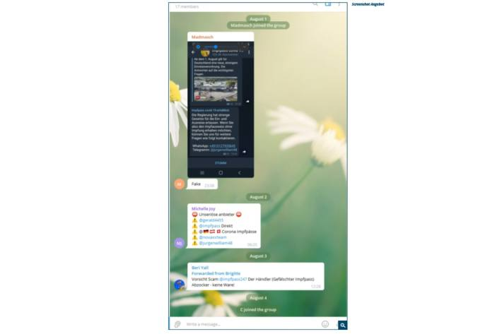 Screenshot Angebot.