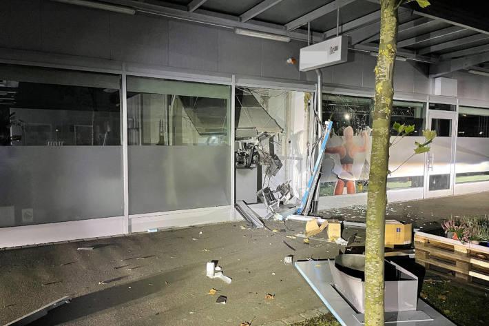 Geldautomat in der Nacht gesprengt
