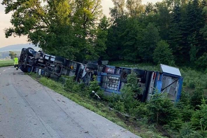 Schwerer Unfall in Fahrwangen