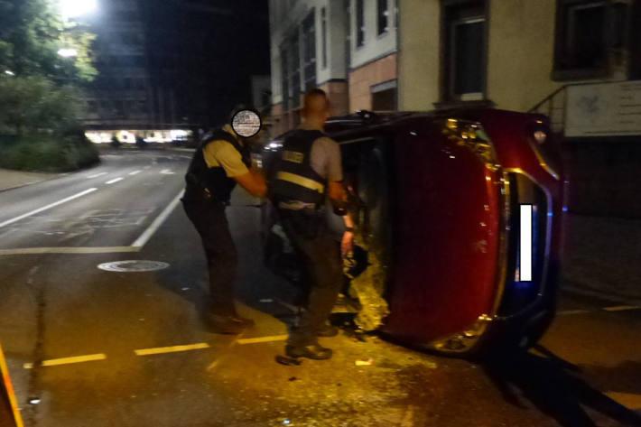 Unfall Landauer Straße