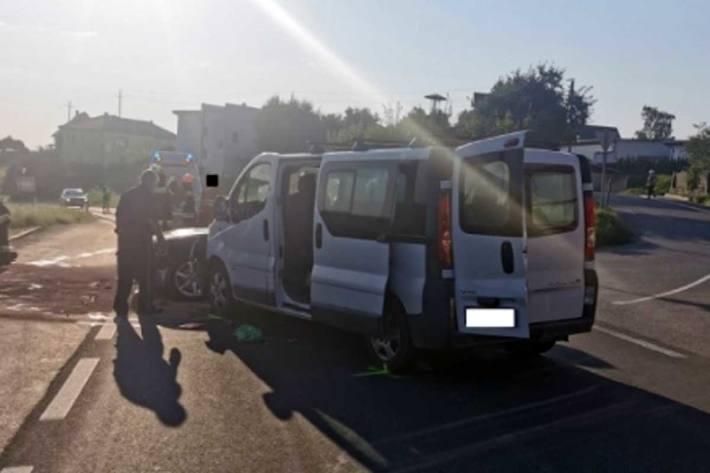 Mehrere leicht Verletzte bei Unfall