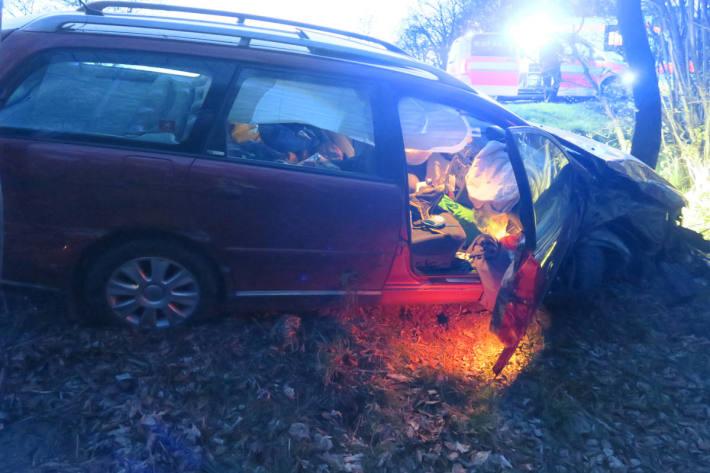 Verkehrsunfall auf der A29 mit einer verletzten Person