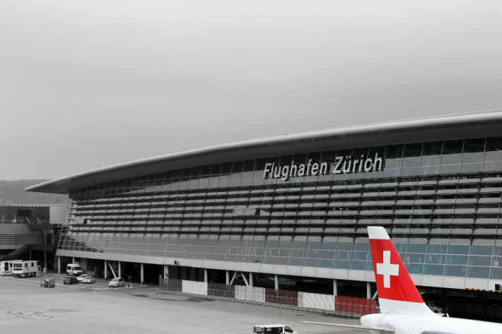 Am Flughafen Zürich werden Messflüge stattfinden.