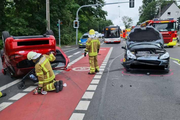 Schwerer Unfall in Herne