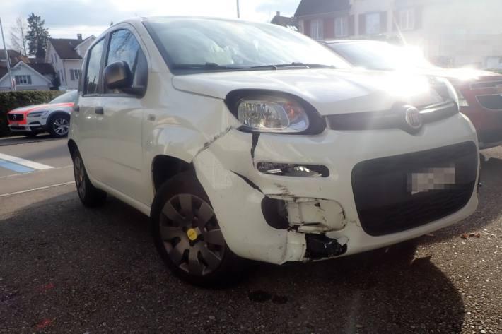Beim Unfall in Amriswil TG verletzten sich gestern drei Personen.