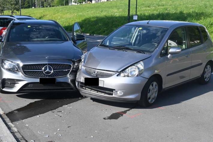Gestern kam es zu drei Verkehrsunfällen in Schaan und Vaduz