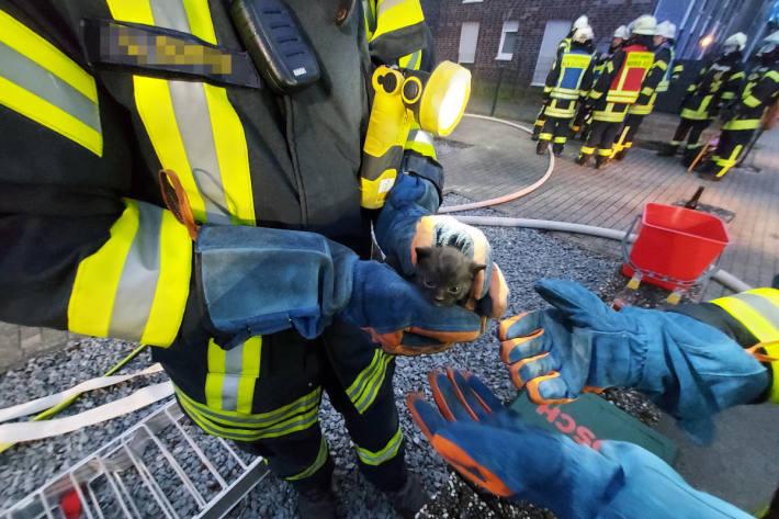 Gebräudebrand am Steenpad in Kellen
